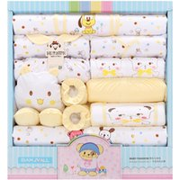 Wholesale free shippping Gift Set New Style Baby Cotton Clothing Set Newborn Hot Sales Gift Infant Cute Clothes
