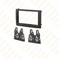 Wholesale Car DVD CD Radio Stereo DIN Fascia Panel Refitting Frame Facia Trim Install Mount Kit For Skoda FABIA