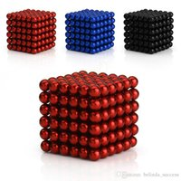 neo magnet - 5mm Colorful Neodymium Bucky balls Neo Cube Magic Cube Puzzle Magnetic Magnet Balls Spacer Spheres Beads Gift Box