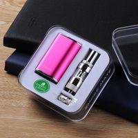 Wholesale Ecig kits Istick w with gs s atomizer e cig kit ml BDC Clearomizer thread mah box mod Istick mini