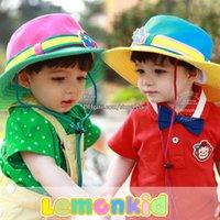 Unisex children bucket hats - Children Caps Boys Girls Kids Hat Spring Autumn Sun Hat Kids Cap Bucket Hat Kid Caps Hats Wide Brim Hats Fashion Beanie Hat Caps Child Hats