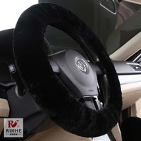 bad promotions - Big Promotion Furry Fluffy Fur Steering Wheel Cover No Bad Smell Auto Car Interior Accessories Steering Wheels Cover CM quot