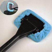 Wholesale 1 x Promotional Microfiber Car Washing Cleaning Window Cleaner Brush Dust Car Care Dusting Handle Brush order lt no track