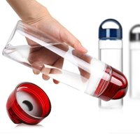 Wholesale Newest Fashion ml Fruit Infuser Water Bottle Infusion AS Drink Lemon Juice Bottle price