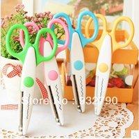 Wholesale 4PCS Creative Cut pictures Paper Edging Scissors Set Assorted Designs Decorative order lt no track