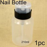 Wholesale Portable ml pc Nail Art Polish Cleaner Remover Travel nail Bottle Portable Dispenser Pump Tool nail tool