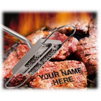 Wholesale 2016 Funnest BBQ Branding Iron Tool Stainless Steel Barbecue Tools Fire Word Family Party Tools