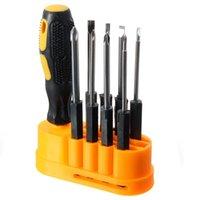 Wholesale 9Pcs set Durable Steel Precision Screwdriver Set Pry Repair Screwdrivers Kit Tools For Household Appliances