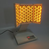 Wholesale 7 colors portable red blue yellow green led light face therapy pdt skin care machine