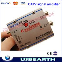 Wholesale Hot selling Signal amplifier sb d8 belt tv interface adjustable CATV signal amplifier