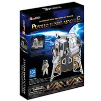 apollo model - Promotion Gift Cubic Fun D Puzzle Toy Apollo Lunar Model DIY Puzzle Toy P651