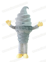 advertising delivery - Fast Delivery ice cream mascot costume advertising mascot Adult Fancy Costume Party dress