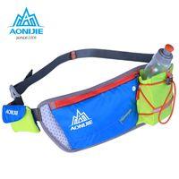 Wholesale 2016 AONIJIE Outdoor Run Ride Movement Pockets Marathon Kettle Purse Male Phone Package Female Super Light Waist Bag