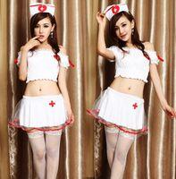 Wholesale The nurse fission short skirt Lingerie game uniform suits sexy costumes for women erotic lingerie star wars costumes babydoll lingerie