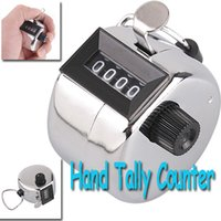 Wholesale Hot Sale Freeshipping Digits Stainless Desk Hand Held Tally Counter dropshipping