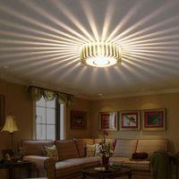 Wholesale Home LED W Hall Light Walkway Porch Decor Lamp Sun Flower Creative LED Ceiling Lights