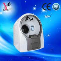 Wholesale 8 Mega Pixels Magic Mirror System portable D facial skin analyzer Skin analysis machine