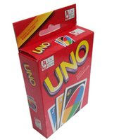 Wholesale 2015 NEW g UNO Card Game Playing Card Family Fun Updated Version play games