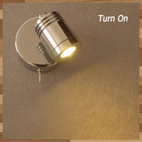application switches - 3Watt LED Bed Lights chrome finish Built in Driver quality components multi applications ideal hotel home retro fit