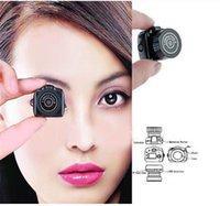 Wholesale 1pcs The World smallest camera Mini HD Y2000 Video Camera Small Mini Pocket DV DVR Camcorder Recorder Spy Hidden Web Cam