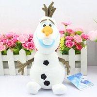 Cheap frozen olaf 30cm Best plush toys