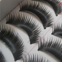 amazing fake eyelashes - Amazing Pairs Natural Long Thick Black False Eyelashes Charming Fake Eye Lashes Makeup with Retail Box