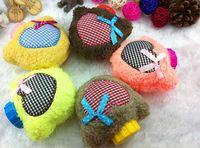 Wholesale 1pcs Hotsale Winter Warm Cute Mini Cartoon Pocket Plush Hot Water Bag Bottle