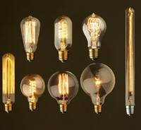 incandescent bulb - classical W Filament Light Bulbs Vintage Retro Industrial Style edison Lamp E27 Antique bulbs Fashion Incandescent lamps V V