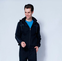 Wholesale New men s autumn winter youth popular sports leisure fleece jacket factory direct sale