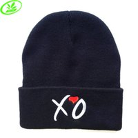 Wholesale 2015 Brand New XOXO Beanie Caps Acrylic Knitted Hat Skull Cap Hiphop Hat Christmas Gift XMAS Present