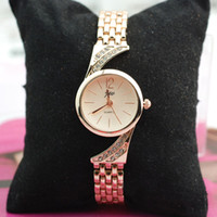 diamond brand watch - Brand Luxury Style Womens Diamonds Watches Fashion Dress Bracelet Wrist Watch High Quality Vine Watches on Discount