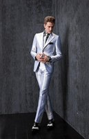 best work suits - 2017 New Groom Tuxedos Slim Fit Best Man Suits Groomsmen Men s Wedding Dress Business Travel Work Suit Custom Made High Quality