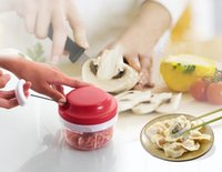 Wholesale Mini Chopper Quick Chef Food Processor and Chopper For Baby Food Not Need Power Chopping Quickly Promotion