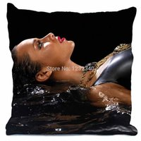 alicia keys covers - Alicia Keys Style throw Pillowcase Custom18x18 Inch Twin Sides Home Car Cushion Cover