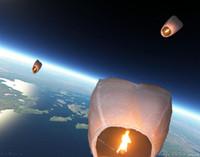 2015 Hot vente de nouveaux Lanternes Sky, Souhaitant Lantern incendie Balloon chinoise Kongming Lanterne Souhaitant Expédition lampe d'éclairage extérieur gratuit