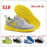 Wholesale Top Quality Classical Brand Roshe Run Running Shoes For Women Men Lightweight London Olympic Athletic Outdoor Sneakers Eur Size