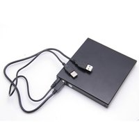 Wholesale External Slim USB CD RW DVD RW High speed cassette mechanism Burner Computer Drive Recorder Optical Drive Burner Player x for Tablets