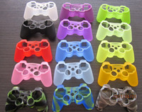 ps3 games - Colorful Camouflage Soft Silicone Skin Protective Cover Case FOR PS3 PS4 Game Controller Joystick