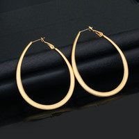 african jewelry designers - New k gold plating U big earrings lady jewelry designer jewelry earrings