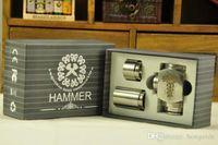 Cheap wholesale Hammer E Pipe Mod Kit Mechanical E-Pipe Mod E Cigarette fit for CE4 CE5 Vivi Nova U-DCT Atomizer Electronic Cigarette