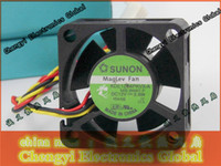 Wholesale SUNON mm x mm x mm KDE1204PKVX A Maglev Cooler Cooling Fan V W Wire Pin Connector for CISCO Router CM