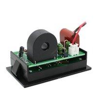 amp combo - New Digital AC V A Ammeter Voltmeter LED Panel Meter AC Amp amp Volt Combo Meter
