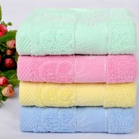 best beach towels - 2014 New Brand Soft Best Bathroom Beach Wash Thick Cotton Towels Mushrooms Printed Washcloths Face Towels