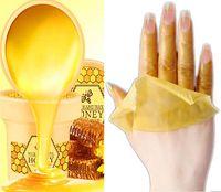 Wholesale Hand Wax Honey Hot Wax g Treatment Hands Whitening Mask Skin Care Remove Dead Skin Peeling Exfoliator Spa Moisturizing