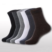 Wholesale Men s Breathable Socks Classic Business Brand Cotton Man Socks Sport Casual Winter Thermal Socks Calcetines Color