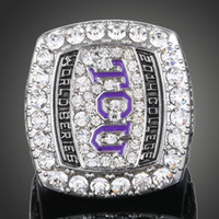 baseball championship rings - MLB baseball Ring TCU TexasChristianUniversity Horned Frogs baseball fans Ring championship rings