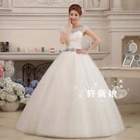 Wholesale 2016 Sexy Lace Vintage Belt Plus Size Wedding Dresses Elegant Vestidos De Novia Berta Bridal Dress Casamento