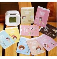 bank folders - FREE SHOPPING Cartoon little girl manufacturers supply double sided two card Taoka folder bank card bus card sets Gift