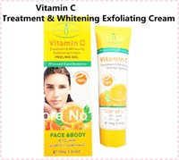 Wholesale 5PCS Vitamin C Treatment Whitening Exfoliating Cream g for Face Body