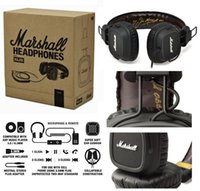 Cheap Marshall Major and FX50 With Microphone & Remote On-Ear Pro Stereo Headphone With Black White Brown Gold color (Negotiable)